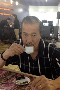 Dad and Espresso